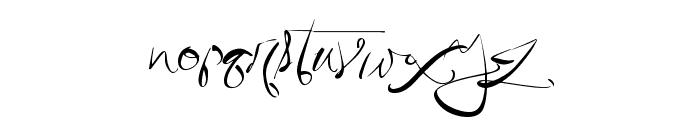QuicklyWrite Font LOWERCASE