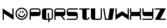 Quickometer Font UPPERCASE