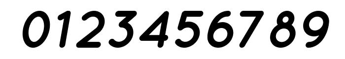 Quicksand Bold Oblique Regular Font OTHER CHARS