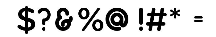 Quicksand Bold Regular Font OTHER CHARS