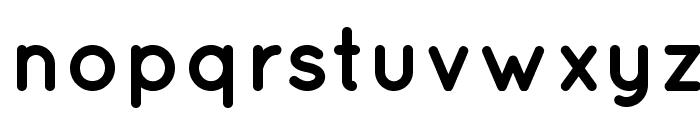 Quicksand Bold Regular Font LOWERCASE