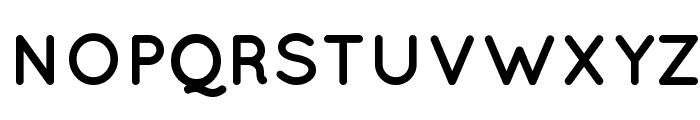 Quicksand Bold Font UPPERCASE