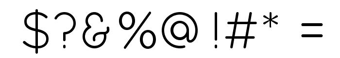Quicksand Book Regular Font OTHER CHARS