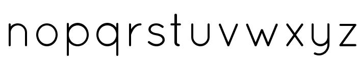 Quicksand Book Regular Font LOWERCASE