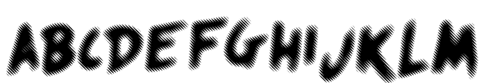 Quicksands Font UPPERCASE