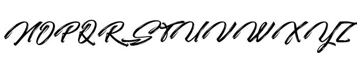 Quicksilver Font UPPERCASE