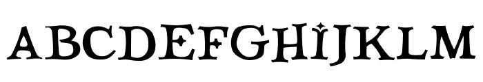 Quicktype Regular Font UPPERCASE