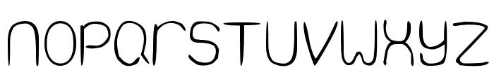 Quiet Infinity Font UPPERCASE