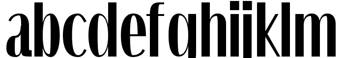 Quiet Streets Font LOWERCASE