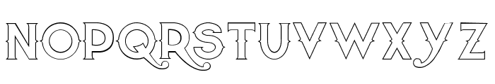 Quiet the Thief EmptyBold Font LOWERCASE