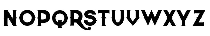 QuiettheThief-Bold Font UPPERCASE