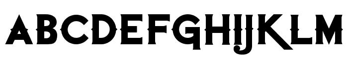 QuiettheThief-Bold Font LOWERCASE