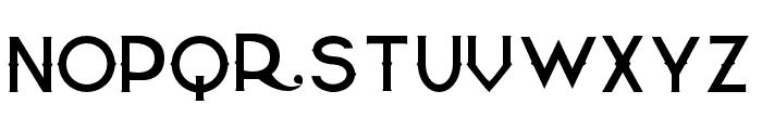 QuiettheThief-Thin Font UPPERCASE