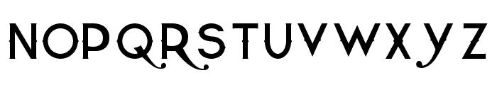 QuiettheThief-Thin Font LOWERCASE