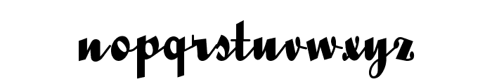 QuigleyWiggly Font LOWERCASE