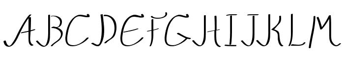 QuikMarker Font UPPERCASE