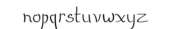 QuikMarker Font LOWERCASE