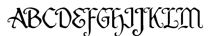 Quill Sword Light Font UPPERCASE