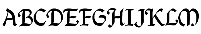 QuillCapitals Font LOWERCASE