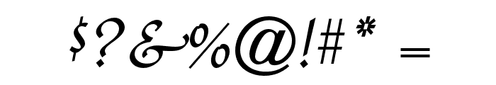 QuillOpti-Regular Font OTHER CHARS