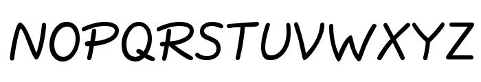QuillScript-Normal Font UPPERCASE