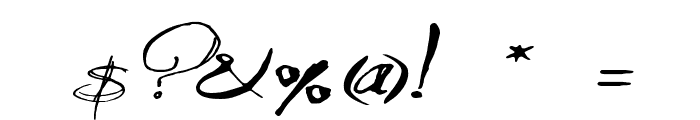 QuiltedButterfly Font OTHER CHARS