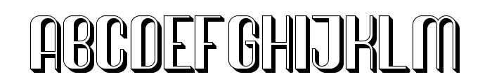 Quimbie 3D Font UPPERCASE