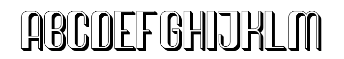 Quimbie 3D Font LOWERCASE