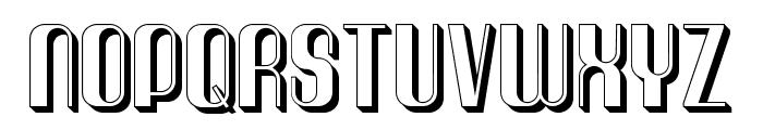 Quimbie3D Font UPPERCASE