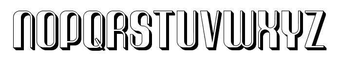 Quimbie3D Font LOWERCASE