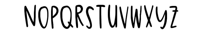 Quincy Regular Font UPPERCASE