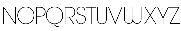 Quinfo-ExtraLight Font UPPERCASE