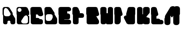Quinine Font UPPERCASE