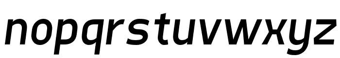 Quinone Oblique Font LOWERCASE