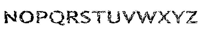 Quinquefoliolate Font UPPERCASE