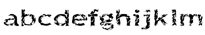 Quinquefoliolate Font LOWERCASE