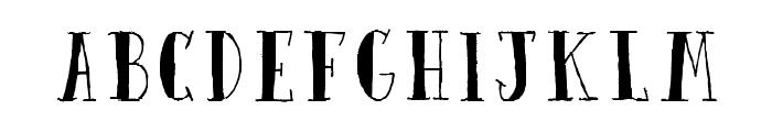 Quinto Font UPPERCASE