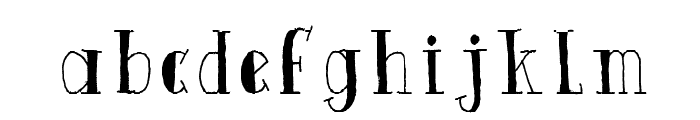 Quinto Font LOWERCASE