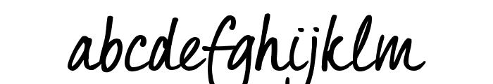 Quintus Regular_TRIAL Font LOWERCASE