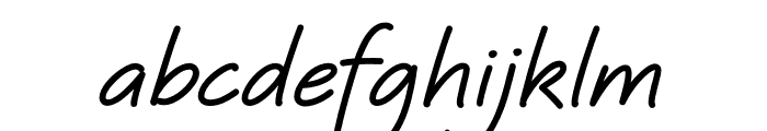 Quinzey-Bold Font LOWERCASE
