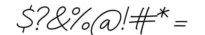 Quinzey-Medium Font OTHER CHARS