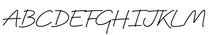 Quinzey-Medium Font UPPERCASE