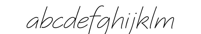 Quinzey Font LOWERCASE