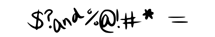 Quirk Font OTHER CHARS