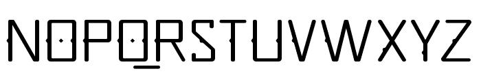 Quirko-Light Font UPPERCASE