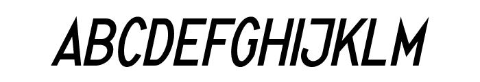 Quirkus Italic Font UPPERCASE