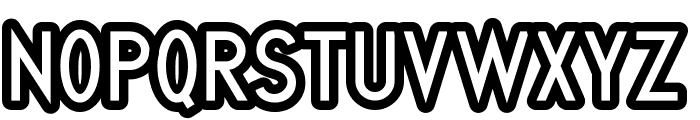 Quirkus Out Font UPPERCASE