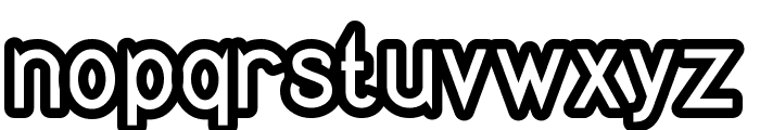 Quirkus Out Font LOWERCASE