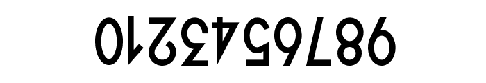Quirkus Upside Down Font OTHER CHARS