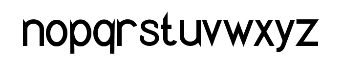 Quirkus Font LOWERCASE